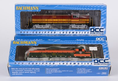 Lot 96 - Bachmann DTC-equipped HOK's locomotives
