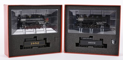 Lot 39A - Proto 2000 Heritage HO-gauge Theme Collection steam locomotives.