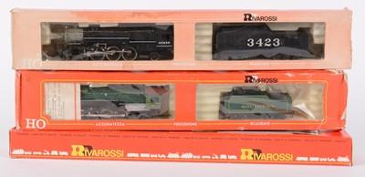Lot 53 - HO-gauge American-Outline steam locomotives by...