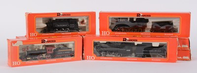 Lot 54 - HO-gauge American-Outline steam locomotives