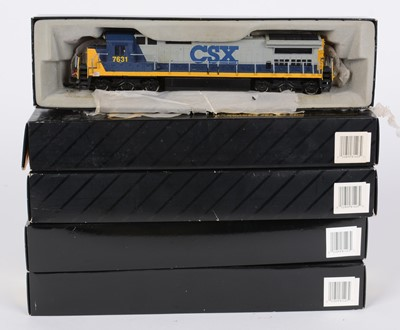 Lot 76 - HO-gauge American-Outline diesel locomotives