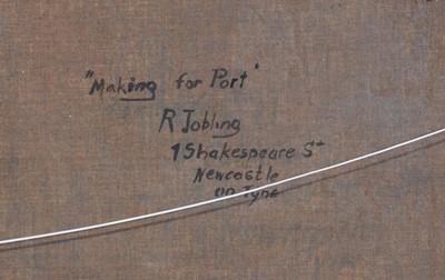Lot 302 - Robert Jobling- oil.