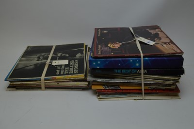 Lot 460 - A selection of mixed vinyl LPs