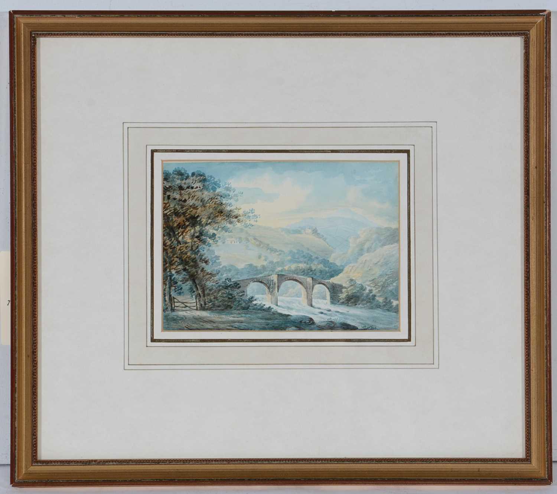 Lot 679 - Rev John Swete - watercolour.