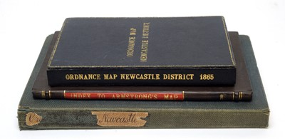 Lot 703 - Three books on maps.
