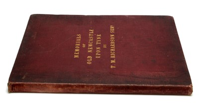 Lot 707 - Richardson (T.M. snr.) Memorials of Old Newcastle upon Tyne