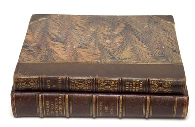 Lot 710 - Two volumes of views of Newcastle upon Tyne