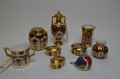 Lot 423 - A selection of Royal Crown Derby 'Imari' ceramics