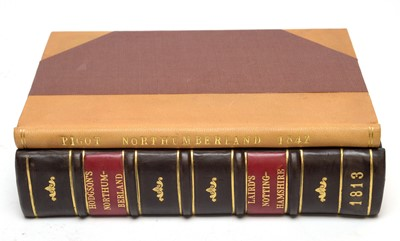 Lot 719 - Hodgson (the Rev. J.) and Laird (F.C.), The Beauties of England and Wales and Pigot's Northumberland