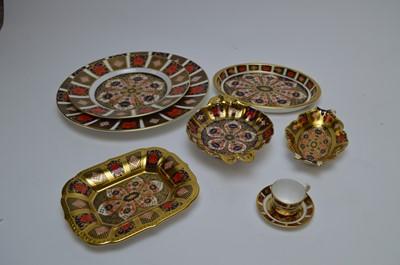 Lot 428 - A selection Royal Crown Derby 'Imari' pattern ceramics