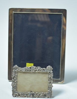 Lot 173 - Two silver photograph frames
