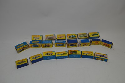 Lot 372 - Selection of Matchbox and Matchbox Superfast model vehicles