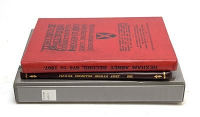 Lot 743 - Books of Hexham interest