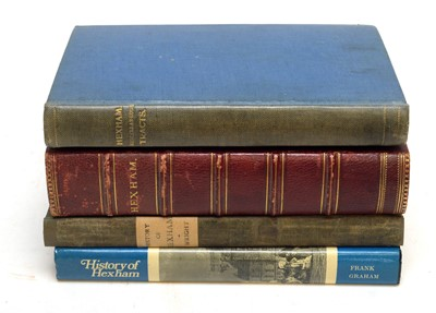 Lot 745 - Hexham interest books and other items.