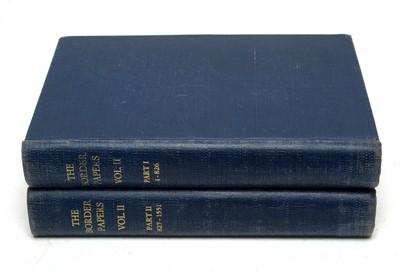 Lot 764 - Bain (Joseph), The Border Papers