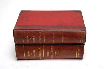 Lot 772 - Bulmer (T.F.), History, Topography and Directory of Northumberland, Hexham etc.