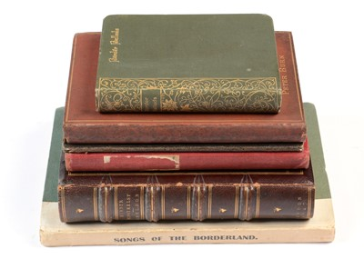 Lot 786 - Six books on Northern poetry.