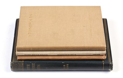 Lot 791 - Four books Wilfred Gibson etc.