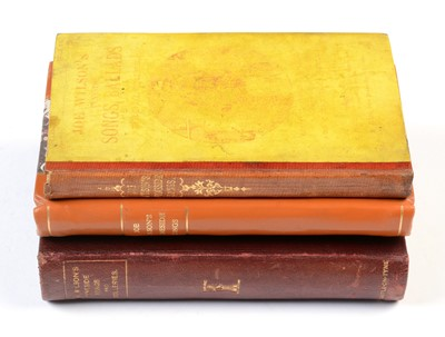 Lot 793 - Three books of Joe Wilson Songs