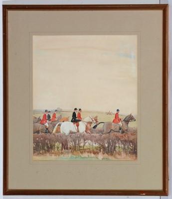 Lot 705 - John Sanderson Wells - watercolour.
