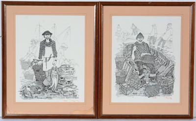 Lot 629 - Robert Olley - prints.