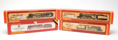 Lot 602 - Four boxed Hornby 00-gauge locomotives.