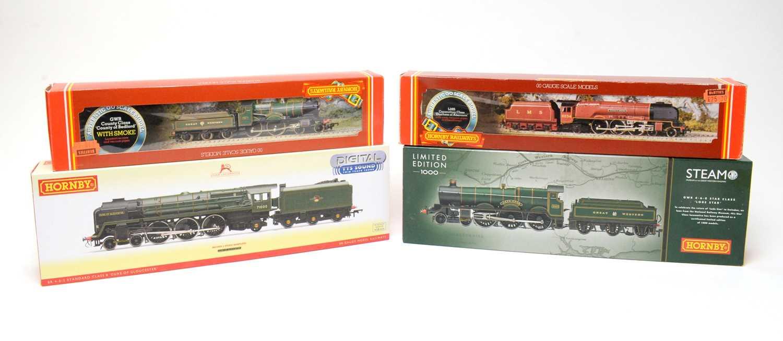 Lot 603 - Four boxed Hornby 00-gauge locomotives.
