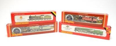 Lot 606 - Four boxed Hornby 00-gauge locos.