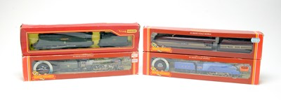 Lot 607 - Four boxed Hornby 00-gauge locos.
