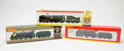Lot 608 - Three boxed Hornby 00-gauge locos.