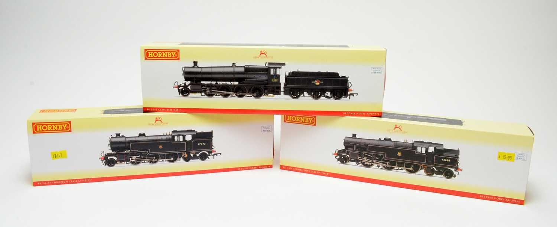 Lot 609 - Three boxed Hornby 00-gauge locos.
