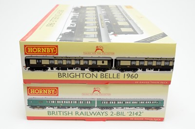 Lot 611 - Two boxed Hornby train packs.