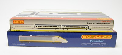 Lot 613 - Two Hornby train packs.