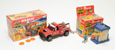 Lot 842 - Kenner MASK The Collector and Wildcat