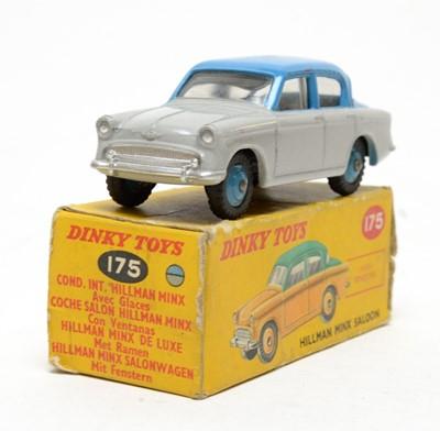 Lot 825 - Dinky Toys Hillman Minx Saloon