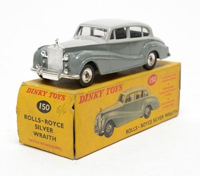 Lot 824 - Dinky Toys Rolls-Royce Silver Wraith