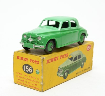Lot 817 - Dinky Toys Rover 75 Saloon