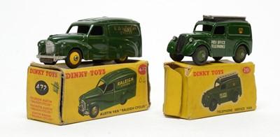 Lot 819 - Dinky Telephone Service Van