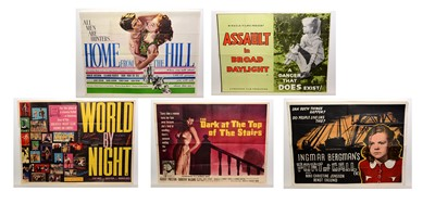 Lot 1276 - Selection of quad movie posters
