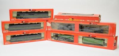 Lot 630 - Six boxed Rivarossi HO-gauge trains.
