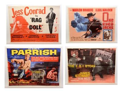 Lot 1277 - Four quad movie posters