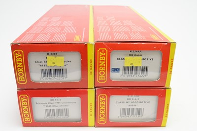 Lot 634 - Four Hornby 00-gauge boxed locos.