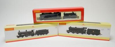 Lot 636 - Three Hornby 00-gauge boxed locomotives.