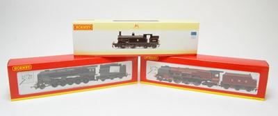 Lot 637 - Three Hornby 00-gauge boxed locos.