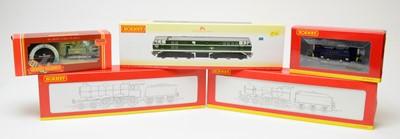 Lot 638 - Five Hornby 00-gauge boxed locomotives.