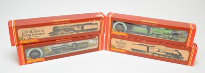 Lot 639 - Four Hornby 00-gauge boxed locos.