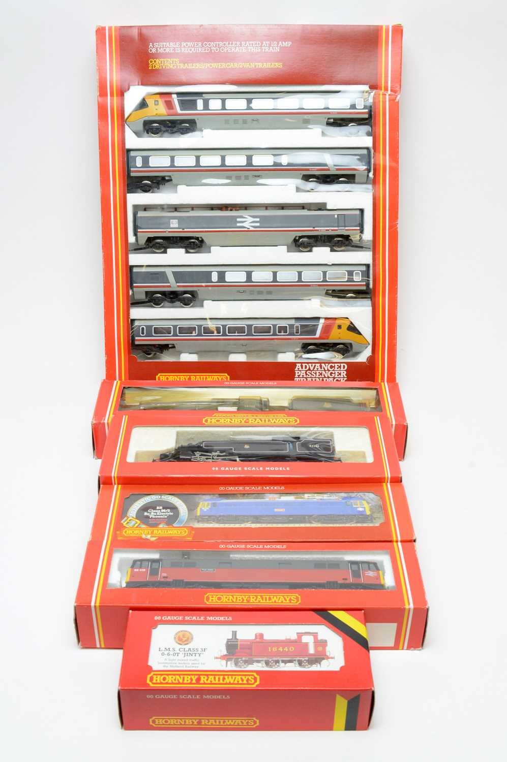 Lot 640 - Boxed Hornby locomotives.
