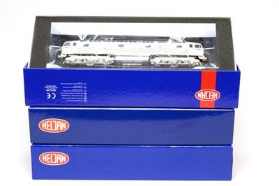 Lot 642 - Three boxed Heljan 00-gauge locomotives.