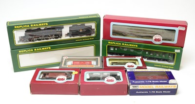 Lot 645 - Boxed Dapol and Replica Railways locomotives and rolling stock.