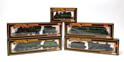 Lot 651 - Five boxed Mainline locomotives, 00-gauge, European Outlines.